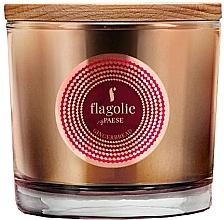 Parfémy, Parfumerie, kosmetika Vonná svíčka v sklenici Perník - Flagolie Fragranced Candle Gingerbread