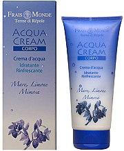 Parfémy, Parfumerie, kosmetika Tělový krém - Frais Monde Acqua Cream Body Sea Lemon And Mimosa
