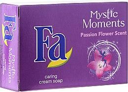Parfémy, Parfumerie, kosmetika Krémové mýdlo - Fa Mystic Moments Shea Butter & Passion Flower Cream Soap