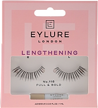 Parfémy, Parfumerie, kosmetika Umělé řasy číslo 116 s lepidlem - Eylure Lengthening False Eyelashes No.116
