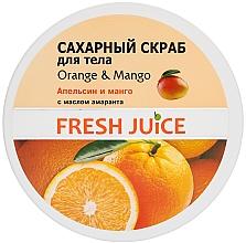 Cukrový tělový peeling - Fresh Juice Orange and Mango — foto N4