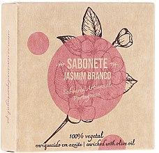"Parfémy, Parfumerie, kosmetika Přírodní mýdlo ""Jasmín"" - Essencias De Portugal Senses Jasmine Soap With Olive Oil"