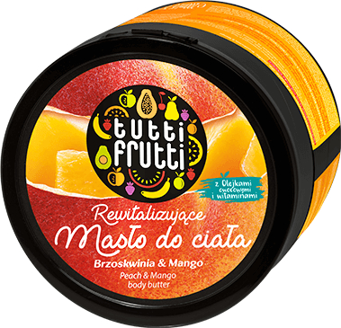 Tělový olej - Farmona Tutti Frutti Peach & Mango Earth