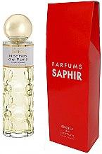 Parfémy, Parfumerie, kosmetika Saphir Parfums Noches de Paris - Parfémovaná voda