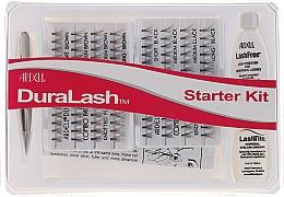 Parfémy, Parfumerie, kosmetika Sada - Ardell Duralash Starter Kit Combo Black/Brown (lashes/112pcs + clay/5ml + tweezers/1pcs + remover/5ml)