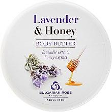 Parfémy, Parfumerie, kosmetika Tělový olej - Bulgarian Rose Lavender & Honey Body Butter
