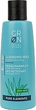Parfémy, Parfumerie, kosmetika Čisticí mléko - GRN Pure Elements Aloe Vera Cleansing Milk