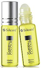 Parfémy, Parfumerie, kosmetika Olej na nehty a nehtovou kůžičku - Silcare The Garden of Colour Cuticle Oil Roll On Lemon Yellow