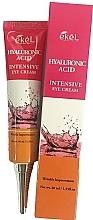 Parfémy, Parfumerie, kosmetika Oční krém s kyselinou hyaluronovou - Ekel Hyaluronic Acid Intensive Eye Cream