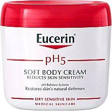 Parfémy, Parfumerie, kosmetika Jemný krém na tělo - Eucerin Soft Body Cream
