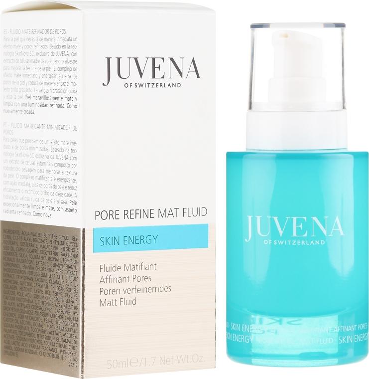 Mající fluid na obličej - Juvena Skin Energy Pore Refine Mat Fluid