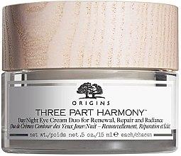 Parfémy, Parfumerie, kosmetika Denní a noční krém na oční okolí - Origins Three Part Harmony Day and Night Eye Cream Duo