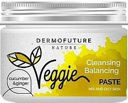 Parfémy, Parfumerie, kosmetika Pasta pro mastnou pleť - DermoFuture Ginger & Cucumber Pasta