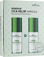 Parfémy, Parfumerie, kosmetika Regenerační ampule - IsNtree Cica Relief Ampoule