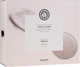 Parfémy, Parfumerie, kosmetika Sada - Maria Nila Pure Volume Presentbox (sh/350ml+cond/300ml+h/soap/300ml)