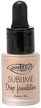 Parfémy, Parfumerie, kosmetika Tekutý základ - PuroBio Sublime Drop Foundation