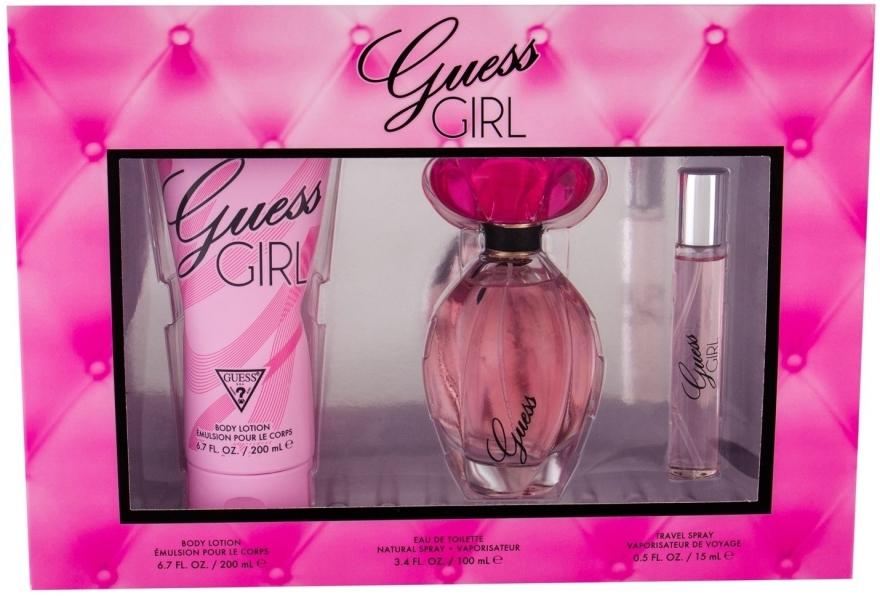 Guess Girl - Sada (edt/100ml + b/lot/200 + edt/15ml)