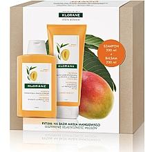 Parfémy, Parfumerie, kosmetika Sada - Klorane Mango (shm/200ml + balm/200ml)