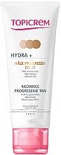 Parfémy, Parfumerie, kosmetika Samoopalovací krém na obličej a krk - Topicrem Hydra+ Radiance Progressive Tan