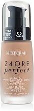 Parfémy, Parfumerie, kosmetika Dlouhotrvající tonální krém - Deborah 24Ore Perfect Foundation