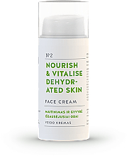 Parfémy, Parfumerie, kosmetika Pleťový krém Výživa a regenerace - You & Oil Nourish & Vitalise Dehydrated Skin Face Cream