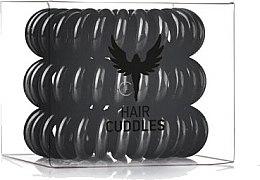 Gumička na vlasy, černá - HH Simonsen Hair Cuddles Black Set — foto N1