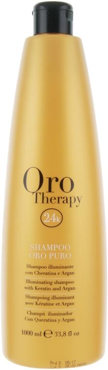 Hydratační šampon se zlatem - Fanola Oro Therapy Shampoo Oro Puro