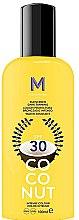 Parfémy, Parfumerie, kosmetika Opalovací krém pro tmavé opalování - Mediterraneo Sun Coconut Sunscreen Dark Tanning SPF30