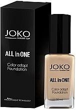 Parfémy, Parfumerie, kosmetika Make-up - Joko All In One Foundation