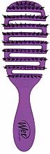 Parfémy, Parfumerie, kosmetika Kartáč pro lesk vlasů, fialový - Wet Brush Pro Flex Dry Shine Enhancer Purple