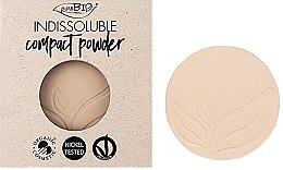 Parfémy, Parfumerie, kosmetika Kompaktní pudr na obličej - PuroBio Cosmetics Compact Powder (náhradní náplň )