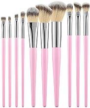 Parfémy, Parfumerie, kosmetika Sada profesionálních make-up štětců, růžová, 10 ks - Tools For Beauty