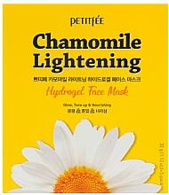 Parfémy, Parfumerie, kosmetika Hydrogelová rozjasňující maska na obličej - Petitfee&Koelf Chamomile Lightening Hydrogel Face Mask
