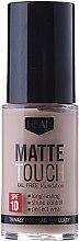 Parfémy, Parfumerie, kosmetika Matující make-up - Hean Matte Touch Oil Free SPF10