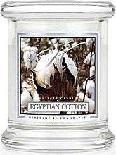 Parfémy, Parfumerie, kosmetika Vonná svíčka ve skle - Kringle Candle Egyptian Cotton