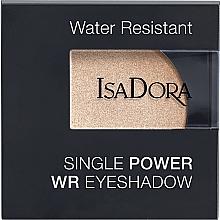 Parfémy, Parfumerie, kosmetika Oční stíny - IsaDora Single Power WR Eyeshadow