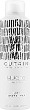 Parfémy, Parfumerie, kosmetika Sprej-vosk na vlasy - Cutrin Muoto Soft Wax Spray