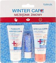 Parfémy, Parfumerie, kosmetika Sada - Floslek Winter Care (cr/30ml + h/cr/30ml + lipstick)