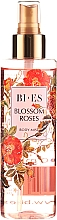 Parfémy, Parfumerie, kosmetika Bi-es Blossom Roses Body Mist - Parfémovaný tělový sprej se třpytkami