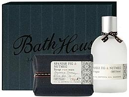 Parfémy, Parfumerie, kosmetika Bath House Spanish Fig and Nutmeg - Sada (edc/100ml + soap/150g)