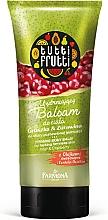 "Parfémy, Parfumerie, kosmetika Balzám na tělo ""Hruška a brusinky"" - Farmona Tutti Frutti Smoothing Body Balm Pear & Cranberry"