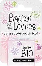 """Parfémy, Parfumerie, kosmetika Balzám na rty """"Jahoda"""" - Marilou Bio Certified Organic Lip Balm"""
