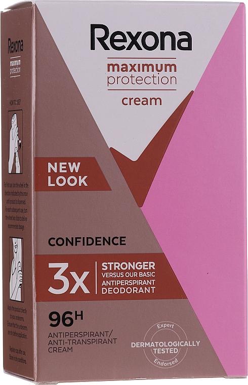 Deodorant v tyčince - Rexona Maximum Protection Confidence — foto N2