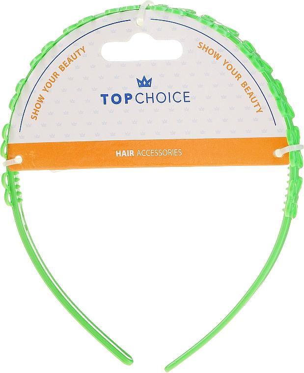 Čelenka na vlasy 27918, světle zelená - Top Chice — foto N1