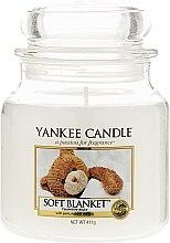 Parfémy, Parfumerie, kosmetika Svíčka ve skleněné nádobě - Yankee Candle Soft Blanket