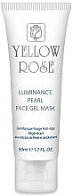 Parfémy, Parfumerie, kosmetika Gelová pleťová maska s perlami a diamantovým pudrem (tuba) - Yellow Rose Luminance Pearl Face Gel Mask