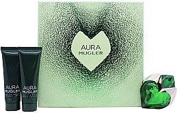 Parfémy, Parfumerie, kosmetika Mugler Aura Mugler - Sada (edp/30ml + b/lot/50ml + sh/gel/50ml)