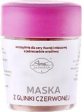 Parfémy, Parfumerie, kosmetika Pleťová maska, s červenou hlínou - Jadwiga Face Mask