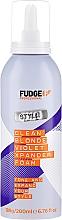 Parfémy, Parfumerie, kosmetika Pěna na vlasy - Fudge Clean Blonde Violet Xpander Foam