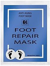 Parfémy, Parfumerie, kosmetika Hydratační maska na nohy - Brazil Keratin Foot Rapair Mask